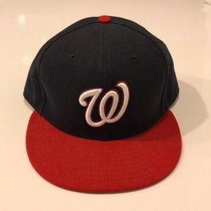 Washington Nationals 7 1/2 size hat